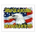 Without God! Small Poster