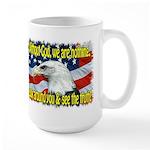 Without God! Large Mug