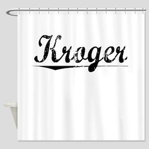 Kroger, Vintage Shower Curtain