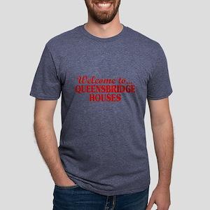 Welcome to... Queensbridge  Mens Tri-blend T-Shirt