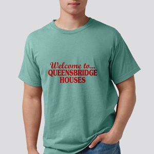 Welcome to... Queensbrid Mens Comfort Colors Shirt