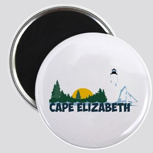 Cape Elizabeth ME - Beach Design. Magnet