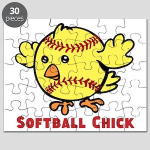 Softball Chick Puzzle