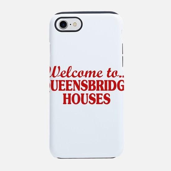 Welcome to... Queensbridge Hou iPhone 7 Tough Case