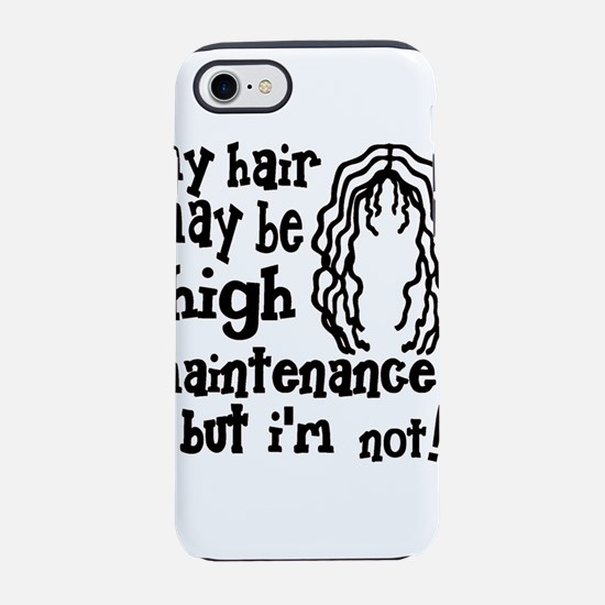 Kelly green My Hair May Be Hig iPhone 7 Tough Case