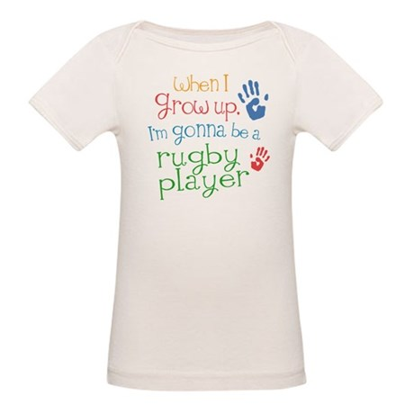 Future Rugby Player Organic Baby T-Shirt