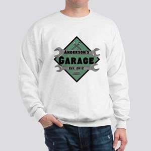 Personalized Garage Sweatshirt