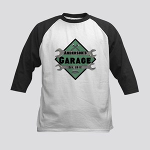 Personalized Garage Kids Baseball Jersey