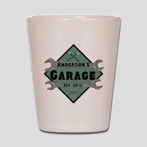 Personalized Garage Shot Glass