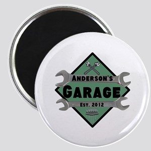 Personalized Garage Magnet