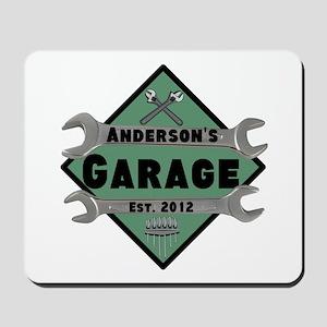 Personalized Garage Mousepad