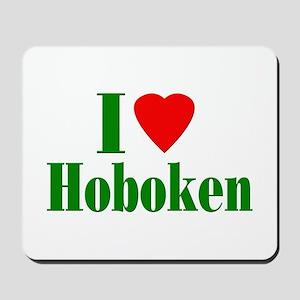 I Love Hoboken Mousepad