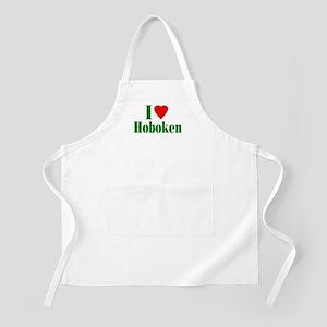 I Love Hoboken BBQ Apron