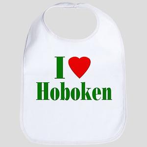 I Love Hoboken Bib