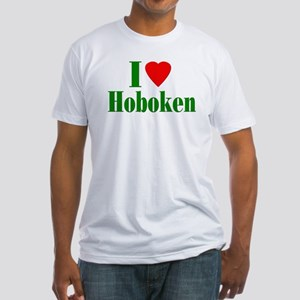 I Love Hoboken Fitted T-Shirt