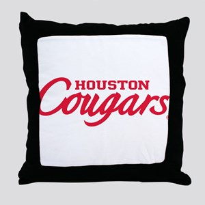 Houston Cougars Throw Pillow
