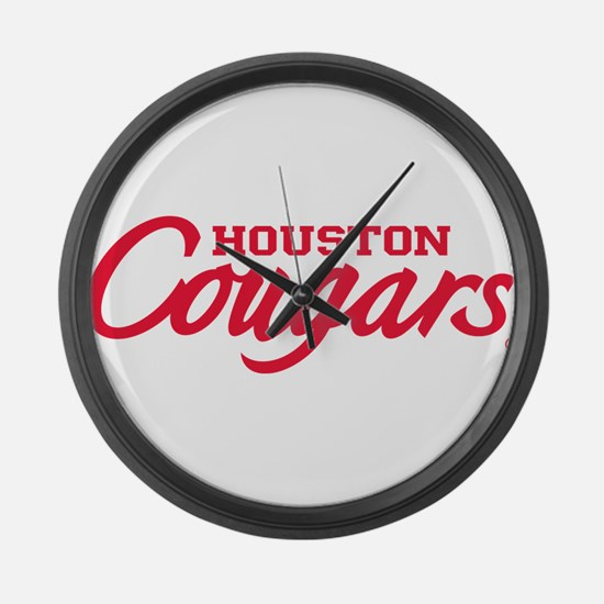 Houston Cougars Large Wall Clock