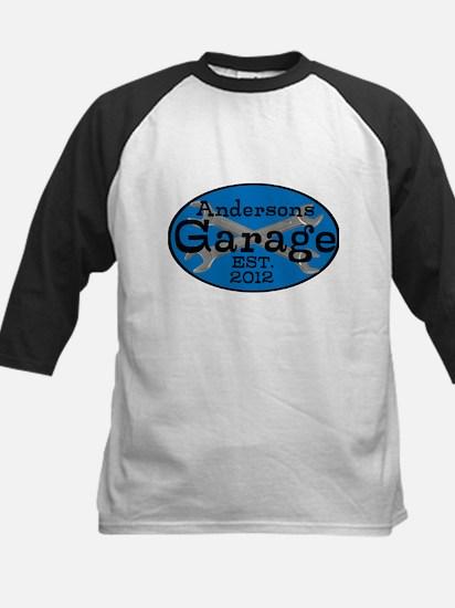 Personalized Garage Kids Baseball Jersey
