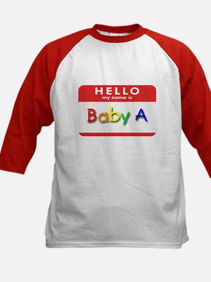 Baby A Kids Baseball Jersey