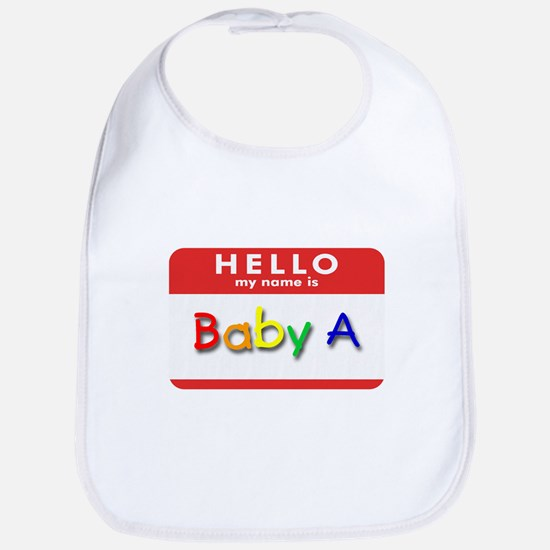Baby A Bib