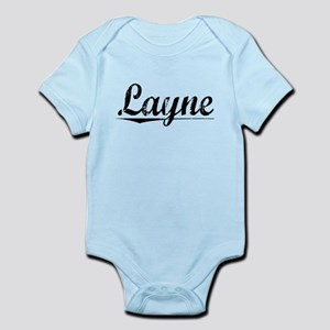 Layne, Vintage Infant Bodysuit