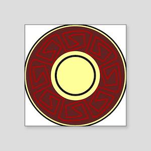 """Native American design 5 Square Sticker 3"""" x 3"""""""