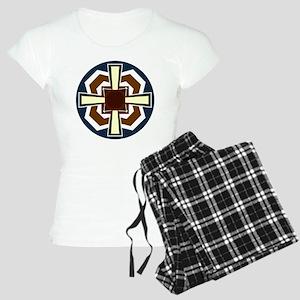 Celtic Cross Design 6 Women's Light Pajamas