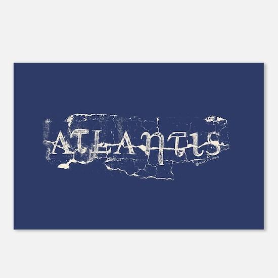 Atlantis Navy Postcards (Package of 8)