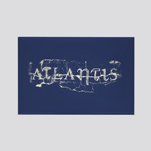 Atlantis Navy Rectangle Magnet