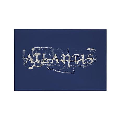 Atlantis Navy Rectangle Magnet (100 pack)