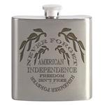 Veterans Memorial USA Flask