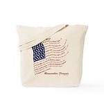 Veterans Memorial USA Tote Bag