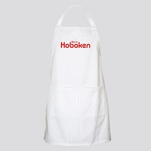 Born in Hoboken BBQ Apron
