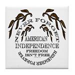 Veterans Memorial USA Tile Coaster