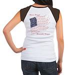 Veterans Memorial USA Women's Cap Sleeve T-Shirt