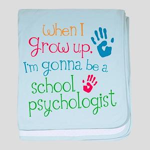 Future School Psychologist baby blanket