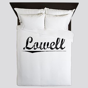 Lowell, Vintage Queen Duvet