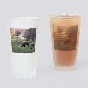 Autumn Grazing Drinking Glass