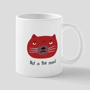Not in the mood cat Mug