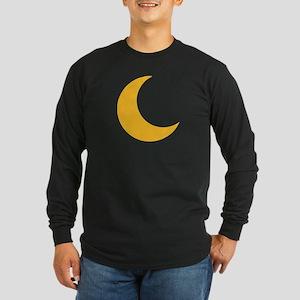 Moon halfmoon Long Sleeve Dark T-Shirt