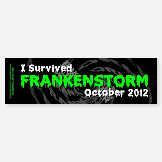 Frankenstorm Sticker (Bumper)