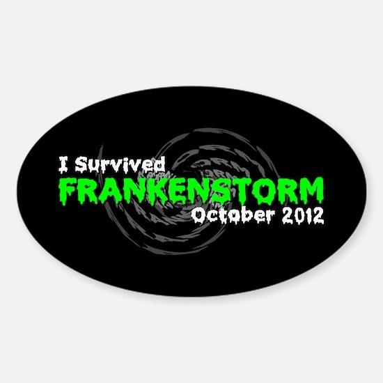 Frankenstorm Sticker (Oval)