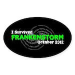 Frankenstorm Sticker (Oval 50 pk)