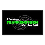 Frankenstorm Sticker (Rectangle 50 pk)