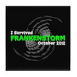 Frankenstorm Tile Coaster