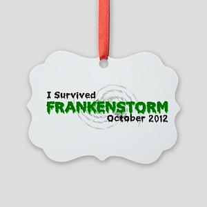 Frankenstorm Picture Ornament