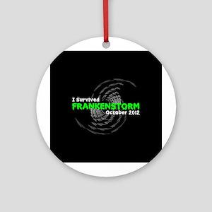 Frankenstorm Ornament (Round)