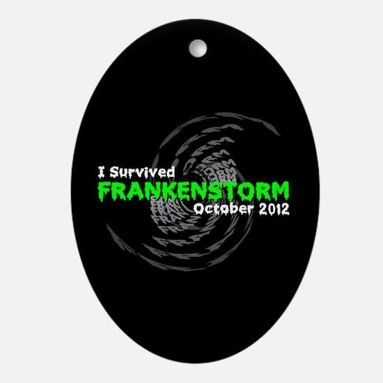 Frankenstorm Ornament (Oval)
