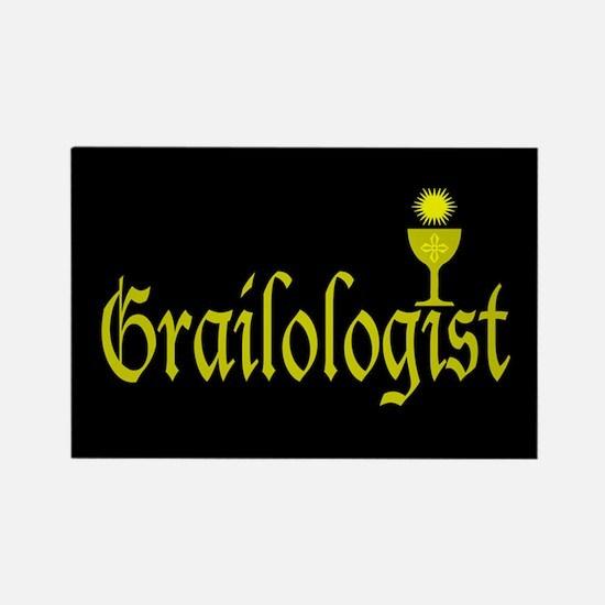 Grailologist Rectangle Magnet