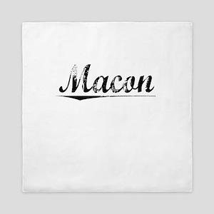 Macon, Vintage Queen Duvet
